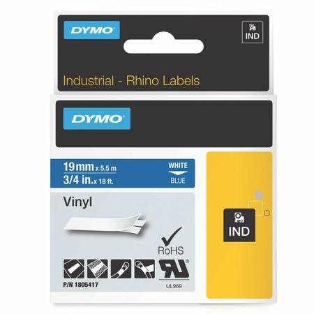 Páska Dymo 1805417 modrá/biely tlač, 19 mm, vinylová