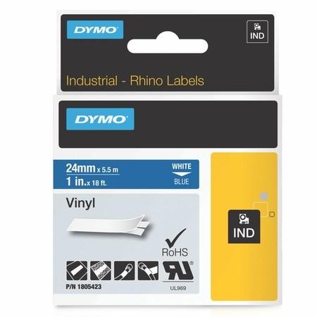Páska Dymo 1805423 modrá/biely tlač, 24 mm, vinylová