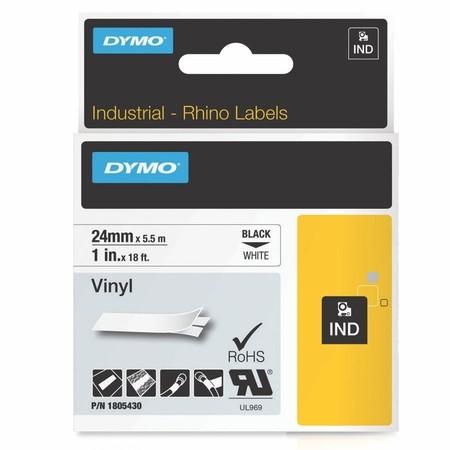 Páska Dymo 1805430 biela/čierny tlač, 24 mm, vinylová