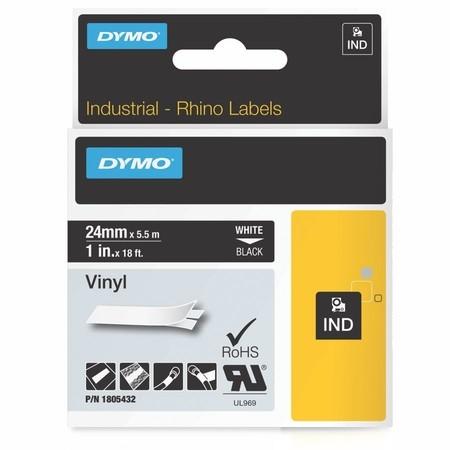 Páska Dymo 1805432 čierna/biely tlač, 24 mm, vinylová