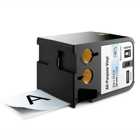 Páska Dymo XTL 1868745 priehľadná/čierny tlač, 54 mm, vinylová