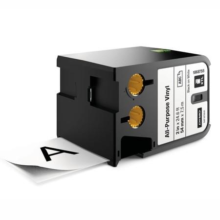 Páska Dymo XTL 1868755 biela/čierny tlač, 54 mm, vinylová
