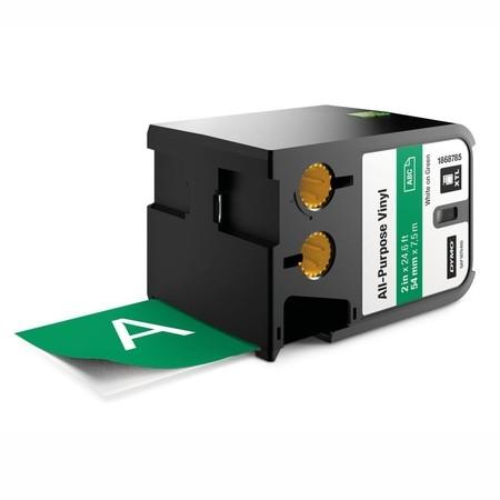 Páska Dymo XTL 1868785 zelená/biely tlač, 54 mm, vinylová