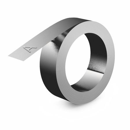Korozivzdorná oceľová páska Dymo 32500 bez lepidla, 12 mm x 6,40 m
