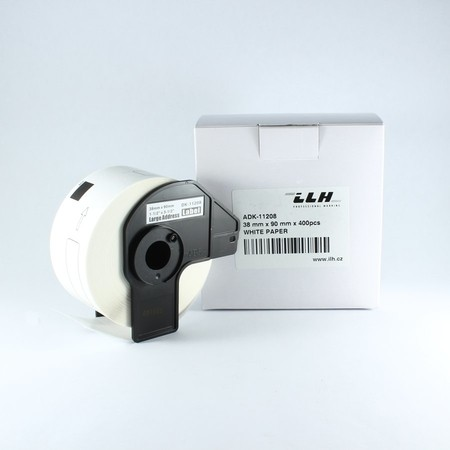 Papierové štítky ADK11208, 38x90 mm, 400 ks