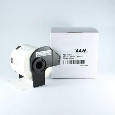 Papierové štítky ADK11209, 62x29 mm, 800 ks