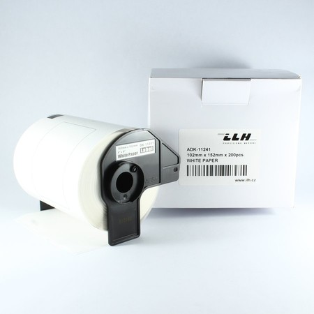 Papierové štítky ADK11241, 102x152 mm, 200 ks