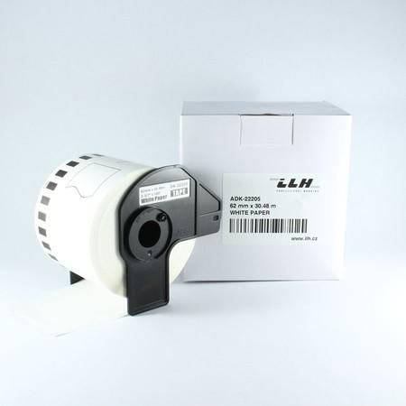 Papierová rolka ADK22205, šírka 62 mm