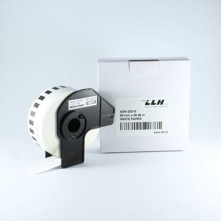 Papierová rolka ADK22210, šírka 29 mm