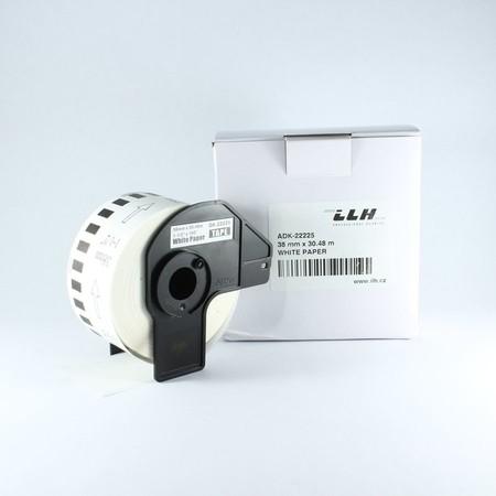 Papierová rolka ADK22225, šírka 38 mm