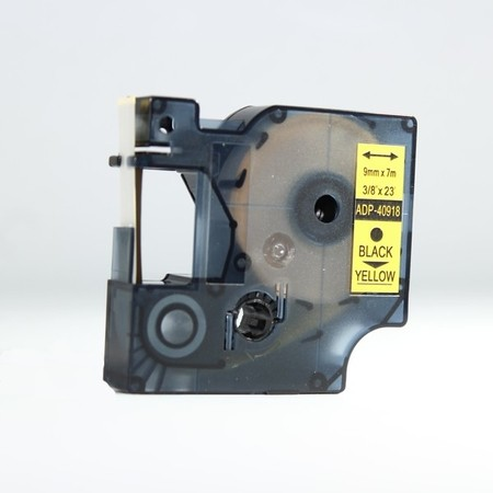 Páska ADP-40918 žltá/čierny tlač, 9 mm