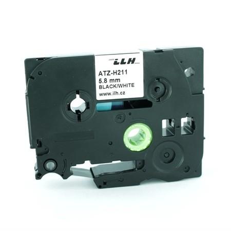 Zmršťovacia bužírka ATZ-H211 biela, 6 mm