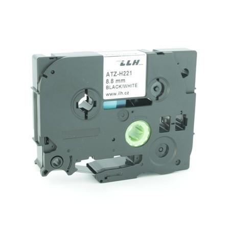 Zmršťovacia bužírka ATZ-H221 biela, 9 mm