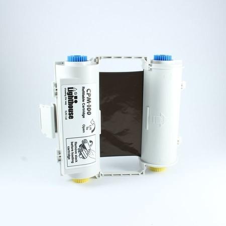 Farbiaca páska CPMR40-RC čierna s kazetou