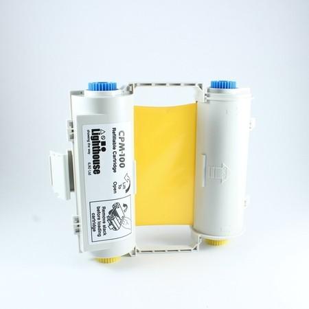 Farbiaca páska CPMR40-RC žltá s kazetou