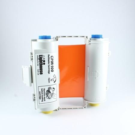 Farbiaca páska CPMR46-RC oranžová s kazetou