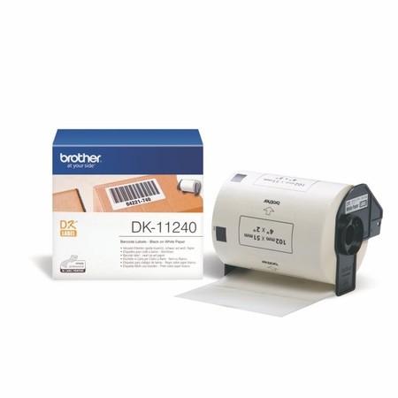 Papierové štítky Brother DK11240, 102x51 mm, 600 ks