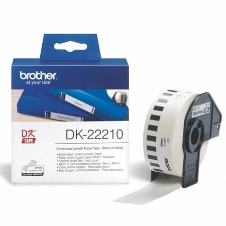 Papierová rolka Brother DK22210, šírka 29 mm