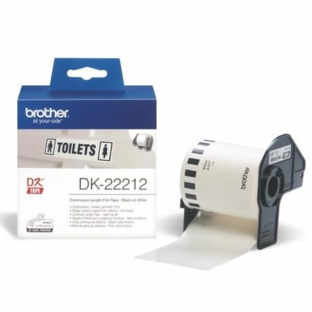 Filmová rolka Brother DK22212 biela, šírka 62 mm