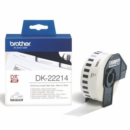 Papierová rolka Brotehr DK22214, šírka 12 mm
