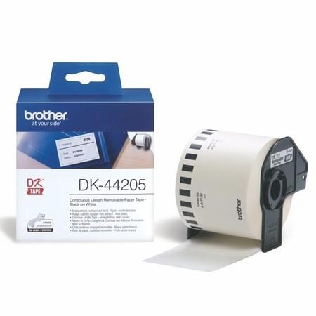 Papierová rolka Brother DK44205, šírka 62 mm, znížená priľnavosť