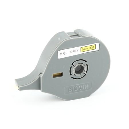 Štítková páska LS-06Y žltá, 6 mm x 6 m