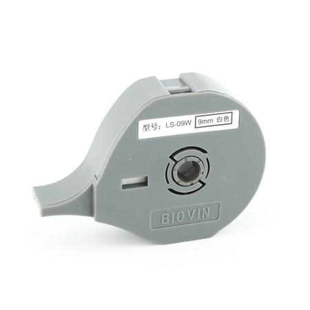 Štítková páska LS-09W biela, 9 mm x 8 m