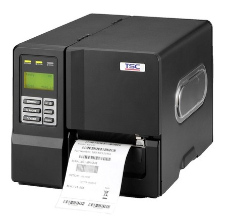 TSC ME340 - priemyselná tlačiareň štítkov