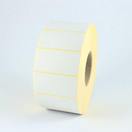 Papierové štítky 63x38 mm, so silným lepidlom, 2000 ks