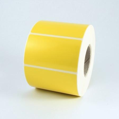 Papierové štítky žlté 60x30 mm, 2000 ks