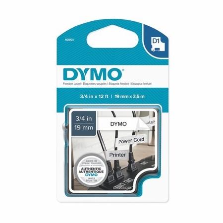 Páska Dymo S0718050 biela/čierny tlač, 19 mm, flexibilná nylonová