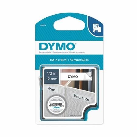Páska Dymo S0718060 biela/čierny tlač, 12 mm, silné lepidlo