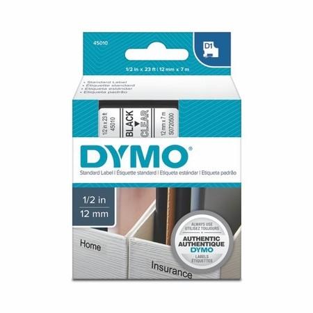Páska Dymo S0720500 priehľadná/čierny tlač, 12 mm