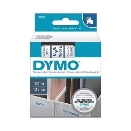 Páska Dymo S0720540 biela/modrý tlač, 12 mm