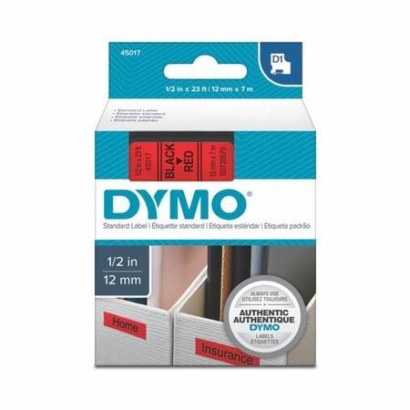 Páska Dymo S0720570 červená/čierny tlač, 12 mm