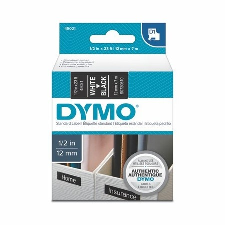 Páska Dymo S0720610 čierna/biely tlač, 12 mm