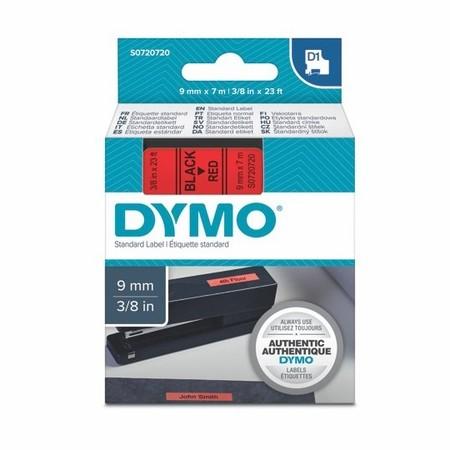 Páska Dymo S0720720 červená/čierny tlač, 9 mm