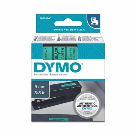 Páska Dymo S0720740 zelená/čierny tlač, 9 mm