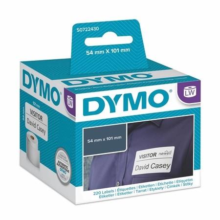 Papierové štítky Dymo S0722430, 101x54 mm, 220 ks