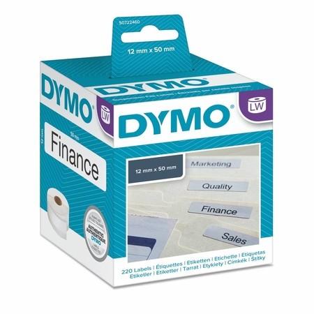 Papierové štítky Dymo S0722460, 50x12 mm, 220 ks