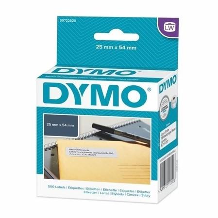 Papierové štítky Dymo S0722520, 54x25 mm, 500 ks