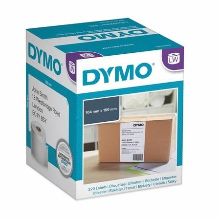 Papierové štítky Dymo S0722660, 159x104 mm, 220 ks