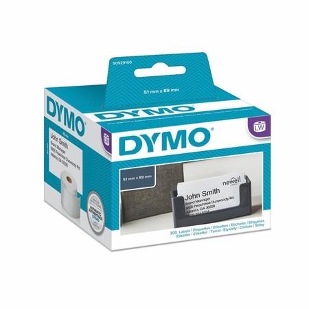 Papierové štítky Dymo S0929100, 89x51 mm, bez lepidla, 300 ks