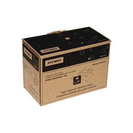 Papierové štítky Dymo S0947410, 89x28 mm, vysokokapacitné, 2x1050 ks