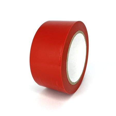 Podlahová páska TMF04 červená 50 mm, dĺžka 30 m
