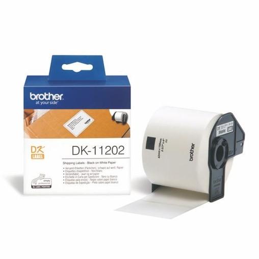 Papierové štítky Brother DK11202, 62x100 mm, 300 ks